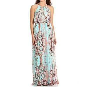 Jessica Simpson Cherry Blossom Maxi Dress